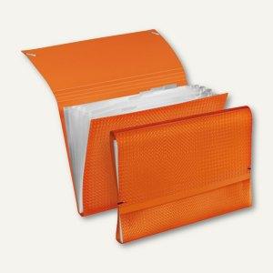 Veloflex Fächermappe VELOCOLOR - DIN A4, PP, orange, 6er-Packs, 4445730