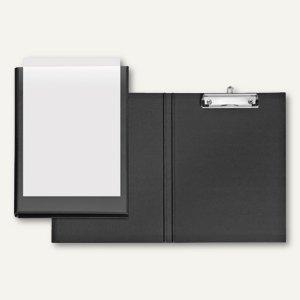 Präsentations-Clipboard VELODUR - DIN A4, Einstecktasche, schwarz, 10er-Pack, 48