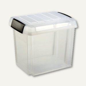 sunware Aufbewahrungsbox mit Griff, 50 Liter, 475 x 370 x 405 mm, H6160602