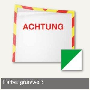 Infotaschen f. Warnhinweise - A4