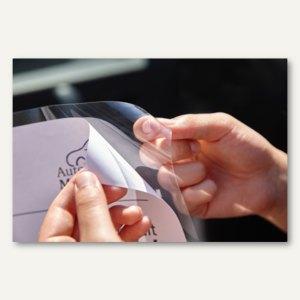 Infotaschen Glassichtfolie - DIN A3, adhäsiv/selbsthaftend, 10 Stück, 886401