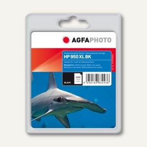 AgfaPhoto Toner für HP 950 XL / CN045AE, ca. 2.300 Seiten, schwarz, APHP950BXL