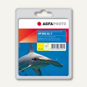 AgfaPhoto Toner für HP 951 XL / CN048AE, ca. 1.500 Seiten, gelb, APHP951YXL