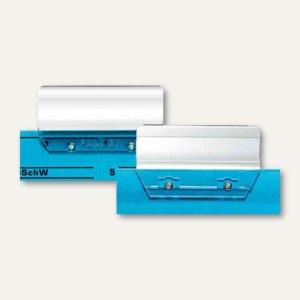 Herlitz Vollsichtreiter - (B)60 mm, Kunststoff, transparent, 50 Stück, 10844744