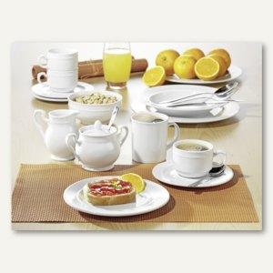 Esmeyer Kaffeeservice ALICE - 20-teilig, Qualitäts-Porzellan, weiß, 539-211