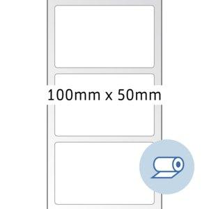Rollenetiketten - 100x50 mm