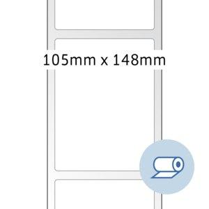 Rollenetiketten - 105x148 mm