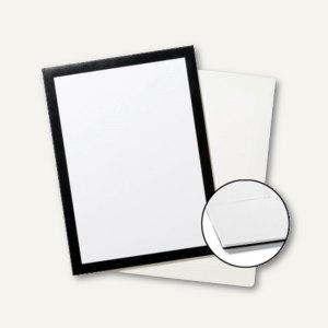 Plakatrahmen DURAFRAME GRIP, DIN A4, Klettstreifen für Textiloberfläche, schwarz
