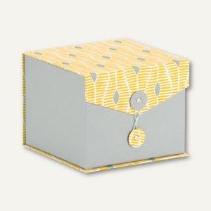 Rössler Box mit Klappdeckel SUN VALLEY, 146x146x120mm, 2 Stück, 14501196000