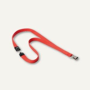 Durable Textilband SOFT COLOUR, koralle, 10 Stück, 8127136