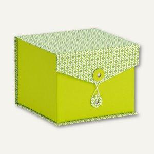 Rössler Box mit Klappdeckel SANTORINI, 146x146x120mm, 2 Stück, 14501198000