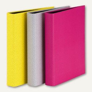 Rössler PEGGY Ringbuch, DIN A4, 2 Ringe, 3 Farben im Set, 6 Stück, 13161195991