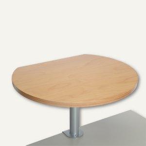 MAUL Stehtisch m. Tischklemme, (H)35 cm, Klemmfuß, 30kg, buche, 9300870