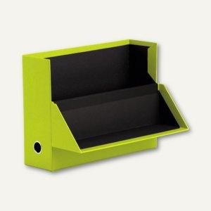 S.O.H.O. Archivbox für DIN A4, 95 x 335 x 255 mm, limette, 2er Pack, 1319452323