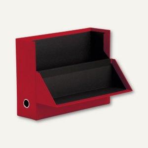 S.O.H.O. Archivbox für DIN A4, 95 x 335 x 255 mm, rot, 2er Pack, 1319452363