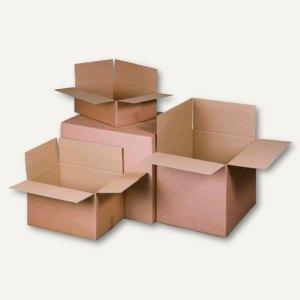 Versandkartons, 2-wellig, 585 x 385 x 175 mm, 30 kg, braun, 15 St., 322102301