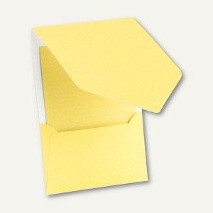CANDY BAR Pocket-/Gutschein-Karte, DIN B6, 250 g/m², lemon/weiß, 25 St., 1644101