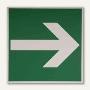 Hinweisetikettfolie - Fluchtweg / Richtungsangabe
