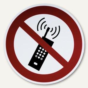 Artikelbild: Hinweisetikettfolie - Mobilfunk verboten