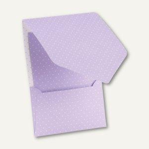 CANDY BAR Pocket-/Gutschein-Karte, DIN B6, 250 g/m², flieder/weiß, 25 St., 16441