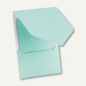 CANDY BAR Pocket-/Gutschein-Karte, DIN B6, 250 g/m², mint/weiß, 25 St.