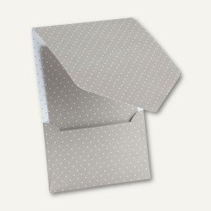 CANDY BAR Pocket-/Gutschein-Karte, DIN B6, 250 g/m², taupe/weiß, 25 St., 1644101