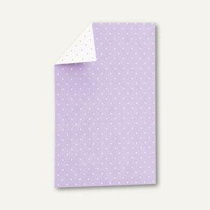 CANDY BAR Einzel-Karte, 108x158mm, 250 g/m², flieder / weiß, 25 St., 16441021226