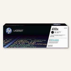 HP Tonerkartusche 410X, ca. 6.500 Seiten, schwarz, CF410X