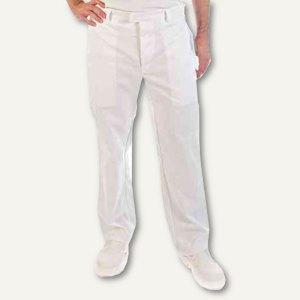 HACCP-Bundhose HYGOSTAR - Größe: L, Baumwollgemisch, DIN 10524, weiß, 84140
