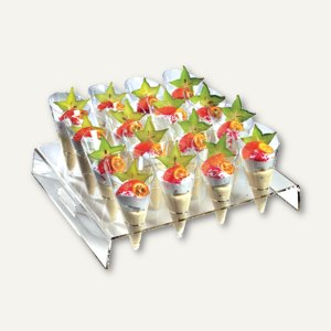 Präsenter für Fingerfood-Becher Cone