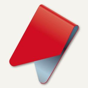 Exacompta Signalreiter / Sattelreiter, Metall, rot, 100 Stück, 137903B