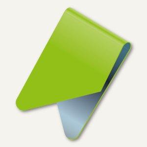 Exacompta Signalreiter / Sattelreiter, Metall, grün, 100 Stück, 137905B
