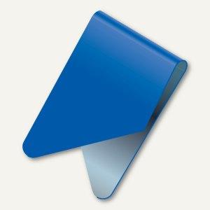 Exacompta Signalreiter / Sattelreiter, Metall, blau, 100 Stück, 137907B