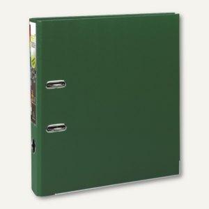 Exacompta Ordner Prem Touch, DIN A4 Maxi, Rücken 50 mm, PP, dunkelgrün, 53153E