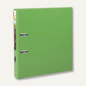 Exacompta Ordner Prem Touch, DIN A4 Maxi, Rücken 50 mm, PP, zitrusgrün, 53156E