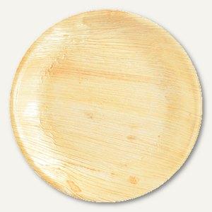 """Einweg-Schalen Palmblatt """"pure"""", rund, Ø 17 cm, Höhe 3.7 cm, 100 Stück, 85515"""
