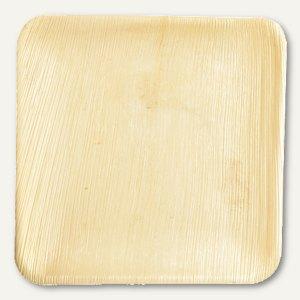 Einweg-Teller Palmblatt pure