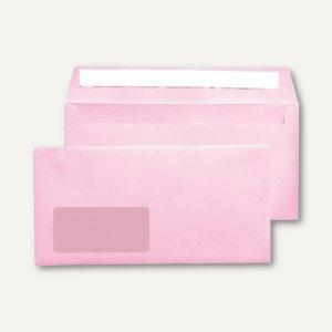 MAILmedia Briefumschlag C6/5, 114x229 mm, mit Fenster, pink, 25 Stück, 227612