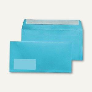 MAILmedia Briefumschlag C6/5, 114x229 mm, mit Fenster, hellblau, 25 Stück,227623