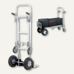 smartboxpro 2-in-1 Alu-Transportroller - Karre & Waagen, bis 120 kg, 355192901