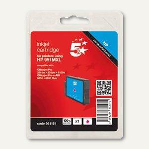 Tintenpatrone für HP CN047AE 951XL