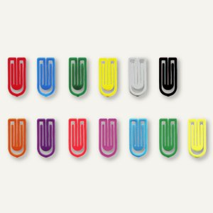 Artikelbild: Kunststoff-Büroklammern King Klips