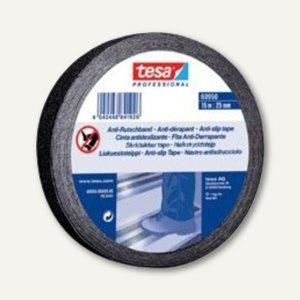 Tesa Anti-Rutschband - 15 m x 50 mm, schwarz, 3 Rollen, 60950-00001-00
