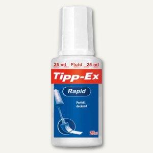 """Tipp Ex Korrekturflüssigkeit """"Rapid"""", weiß, 25 ml, 8119143"""
