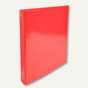 Exacompta Ringbuch Iderama A4, Rückenbreite: 4 cm, Premium-Karton, rot, 549295E