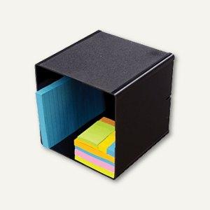 Organiser-System CUBE, Cube einfach, B 15.2 x H 15.2 x T 15.2 cm, schwarz