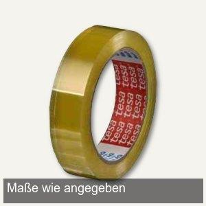 Tesa Klebeband 4204, PVC, 19 mm x 66 m, transparent, 8 Rollen, 04204-00010-00