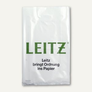 LEITZ Kunststoff-Tragetasche mit Werbeaufdruck, für 5 Ordner, 500 St., 98109904