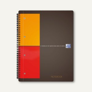 Spiralcollegeblock Notebook International DIN A5+