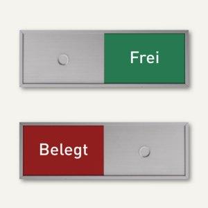 MADRID Silver Line Frei-/Belegt Anzeige, 50.5 x 150.5 mm, 3 Stück, I255051505FB
